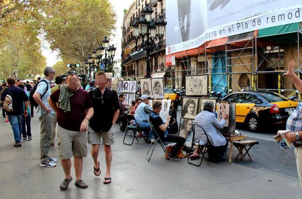 شارع الرامبلا برشلونة
