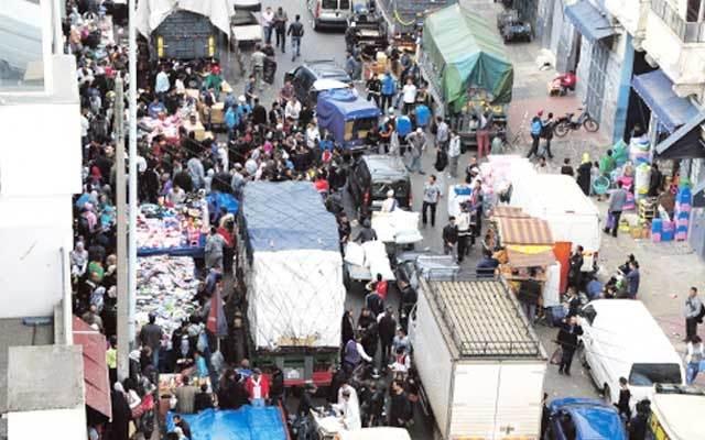 سوق درب عمر احد اسواق الدار البيضاء المشهورة