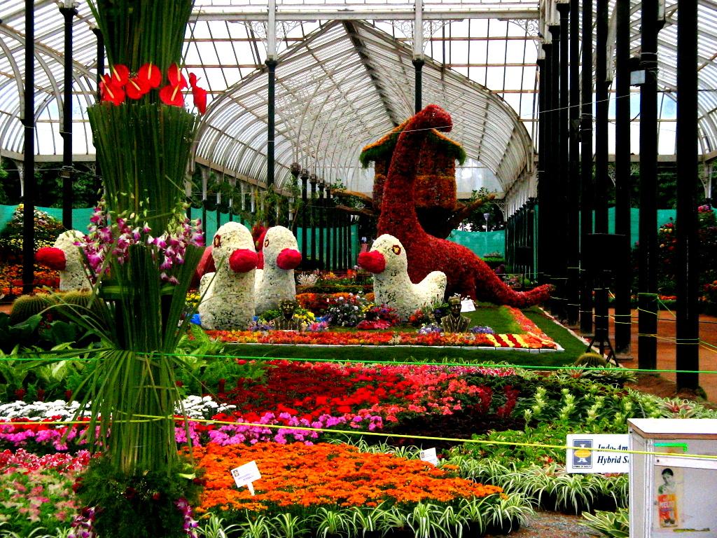 حديقة لال باغ في بنجلور الهند