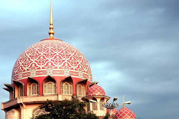 قبة مسجد بوترا جايا
