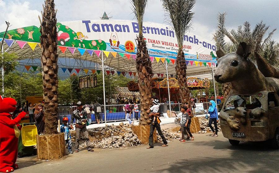 أفضل 6 أنشطة يمكنك القيام بها في تامان ماتاهاري في بونشاك اندونيسيا