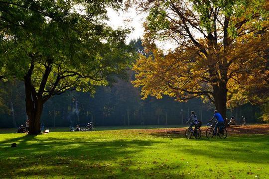 منتزه تيرغارتن في المانيا برلين