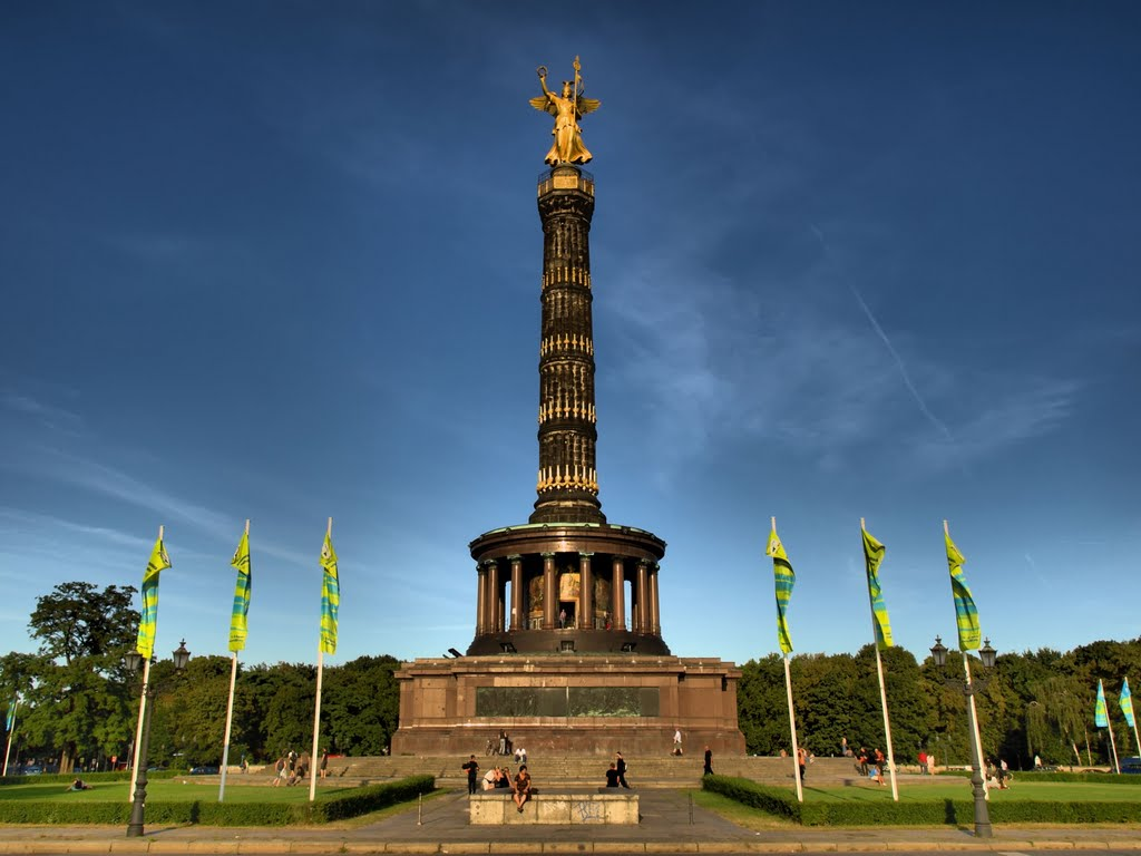 عمود النصر في برلين المانيا