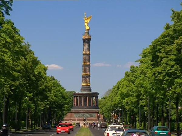 عمود النصر برلين المانيا