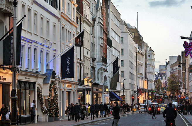 شارع بوند ستريت لندن انجلترا