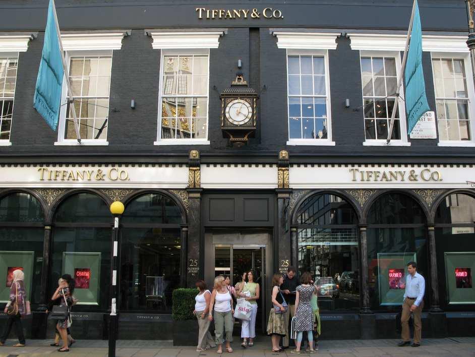 شارع بوند ستريت من اهم شوارع لندن السياحية