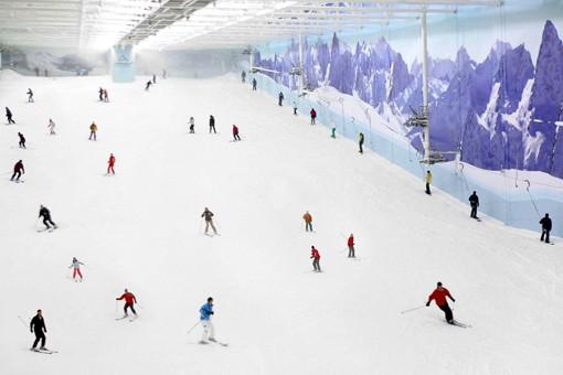 مركز تزلج تشيل فاكتور من اماكن الترفيه في مانشستر