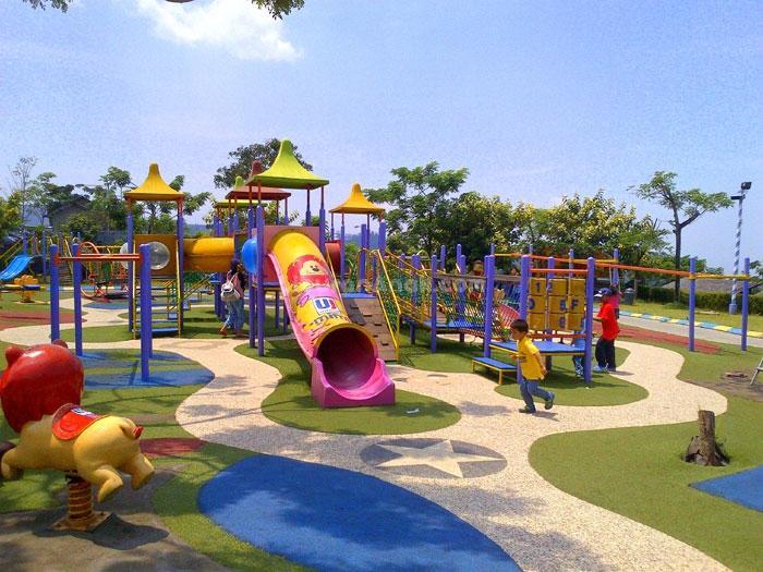 منتزه كامبونج جاجاه في مدينة باندونق اندونيسيا