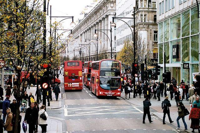 شارع اوكسفورد اشهر شارع في لندن