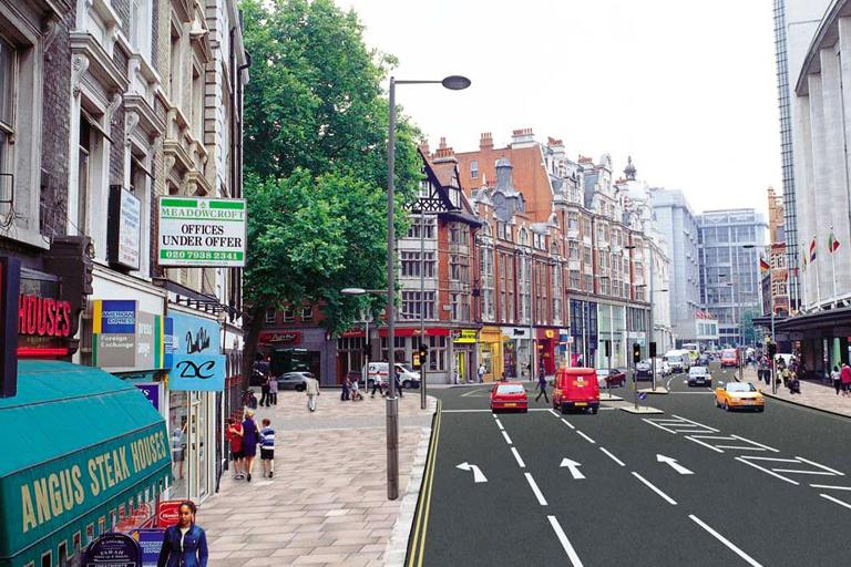 هاي ستريت كنزينغتون من افضل شوارع لندن السياحية انجلترا
