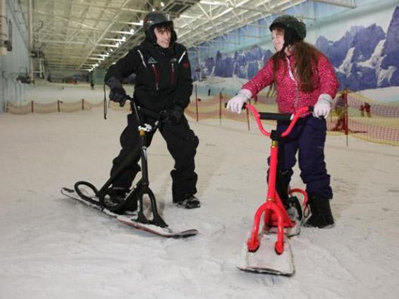 مركز التزلج تشيل فاكتور في مدينة مانشستر انجلترا