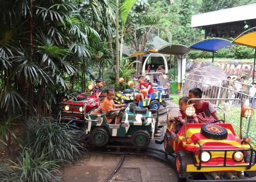 حديقة سفاري بونشاك من اجمل معالم مدينة بونشاك السياحية في اندونيسيا