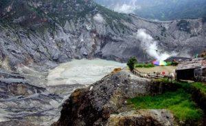 تعرف على بركان تانكوبان في مدينة باندونق اندونيسيا