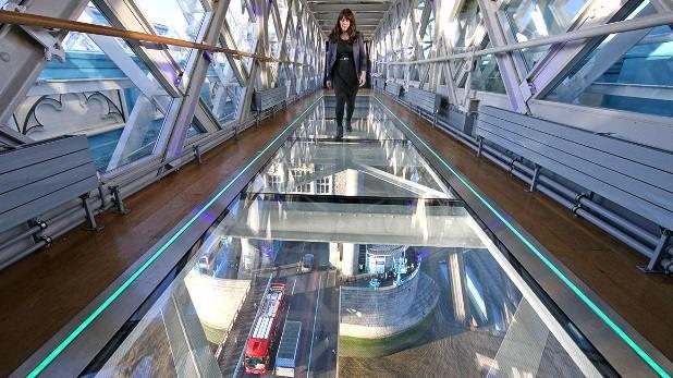 جسر البرج لندن من اهم معالم لندن انجلترا