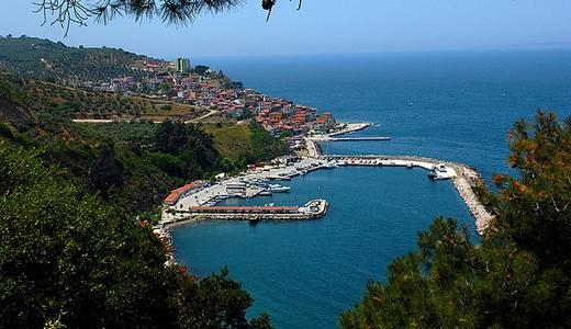 قرية تريليا مودانيا من اجمل قرى واماكن سياحية في بورصة تركيا