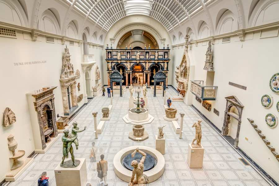 متحف فيكتوريا وألبرت لندن من اهم اماكن السياحة في لندن