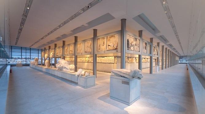 متحف الأكروبول في مدينة اثينا اليونان