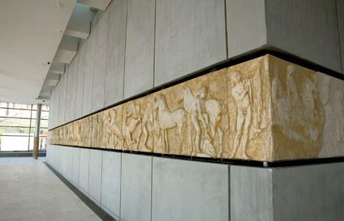 متحف الأكروبول في اثينا اليونان