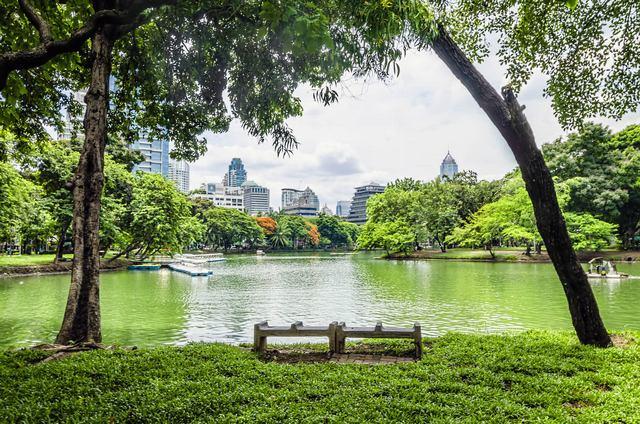 لومبيني بارك سياحة في بانكوك تايلاند
