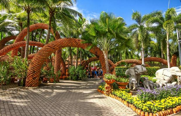 حديقة نونغ نوش الاستوائية من افضل اماكن السياحة في بتايا