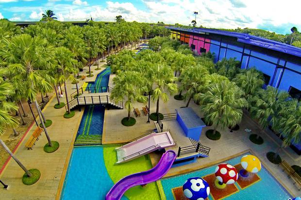 حديقة نونغ نوش الاستوائية من اهم الاماكن السياحية في بتايا تايلاند