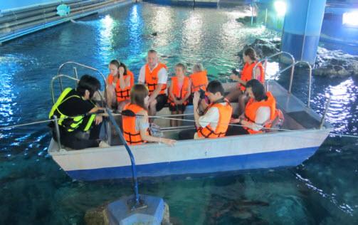 اكواريوم بانكوك من افضل اماكن السياحة في بانكوك