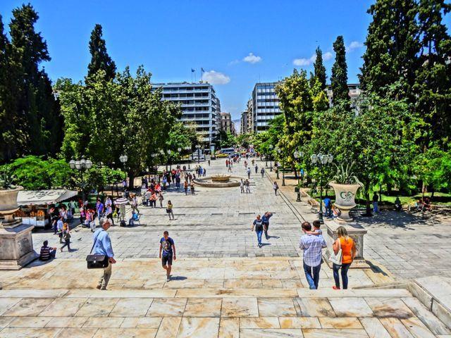 السياحة في مدينة اثينا اليونانية
