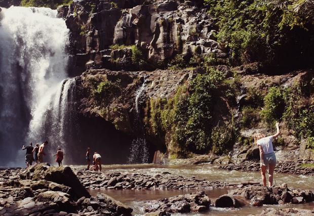 شلال تيجينونجان احدى اجمل شلالات بالي اندونيسيا