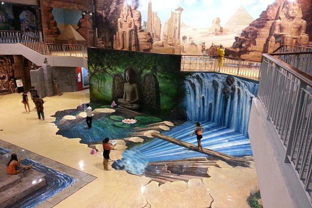معرض جنة الفن من اهم الاماكن السياحية في بتايا