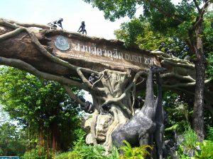 حديقة حيوانات دوسيت من افضل اماكن السياحة في تايلاند بانكوك