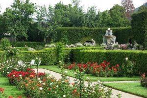 حديقة الزهور في بادن بادن المانيا