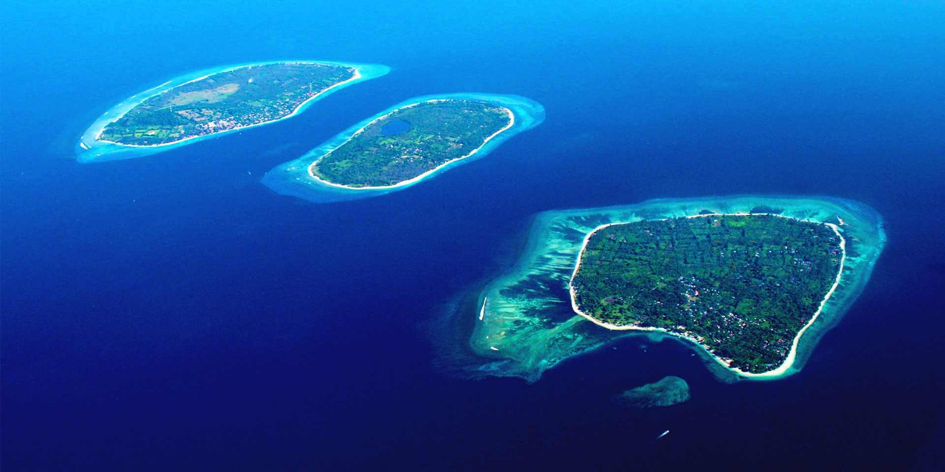 جزر جيلي احدى اجمل اماكن السياحة في لومبوك اندونيسيا