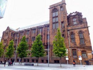 مكتبة جون رايلندز مانشستر في انجلترا