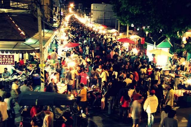 السوق الليلي شنغماي