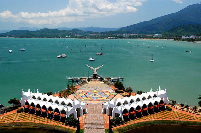 ميدان النسر في جزيرة لنكاوي ماليزيا