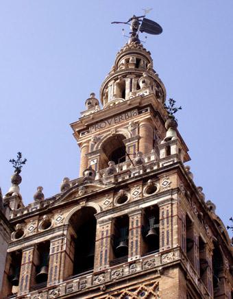 برج الخيرالدا من اجمل اماكن السياحة في اشبيلية اسبانيا