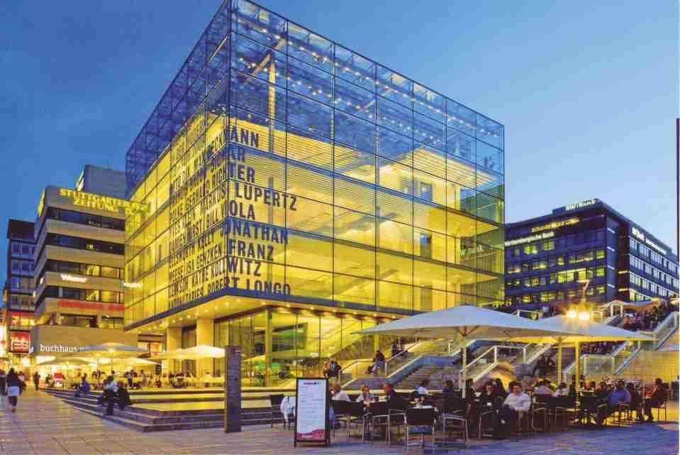 متحف الفن شتوتغارت المانيا