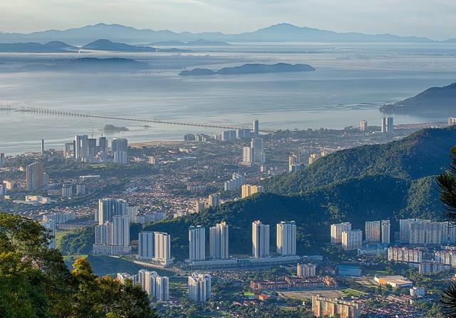 هضبة بينانج من اجمل اماكن السياحة في ماليزيا