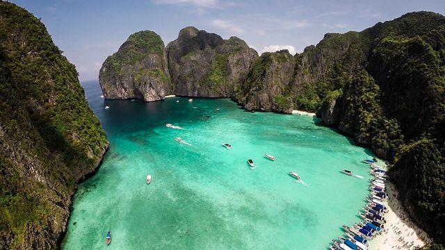جزيرة فاي فاي في كرابي تايلاند