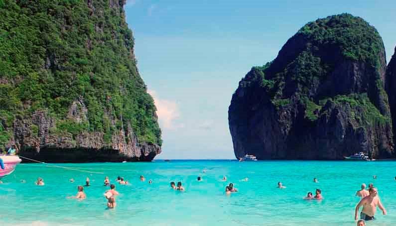 جزيرة في في في كرابي تايلاند