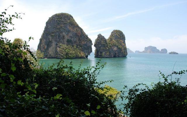 شاطئ رايلي في تايلاند كرابي