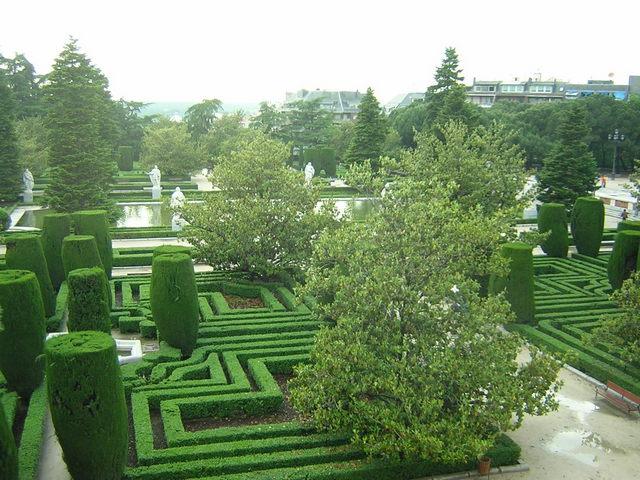 الحديقة النباتية الملكية في مدريد
