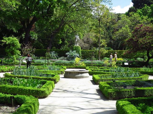 الحديقة النباتية الملكية من اجمل اماكن السياحة في مدريد اسبانيا