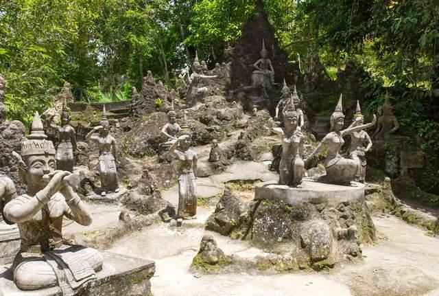 حديقة بوذا السرية كوساموي