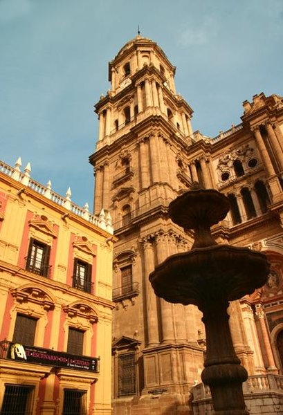 كاتدرائية ملقا في اسبانيا