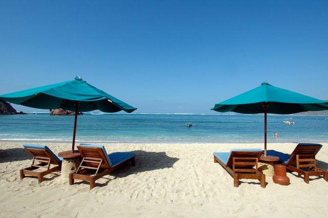شاطئ كوتا في جزيرة لومبوك