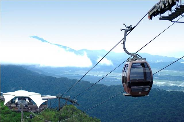 تلفريك لنكاوي من افضل اماكن السياحة في ماليزيا
