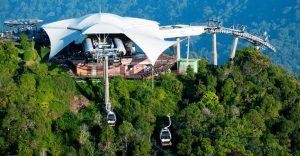 تلفريك لنكاوي من افضل اماكن السياحة في لنكاوي ماليزيا