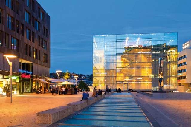 متحف الفن في مدينة شتوتغارت المانيا