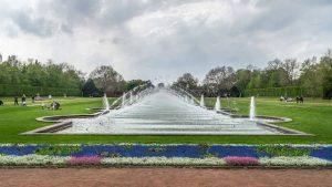 حديقة نورد بارك دوسلدورف المانيا
